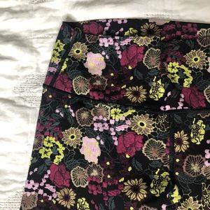 """Lululemon Wunder Under 7/8"""" Floral Print"""